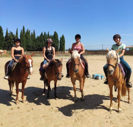 Balades équestres au Centre équestre de la Serre