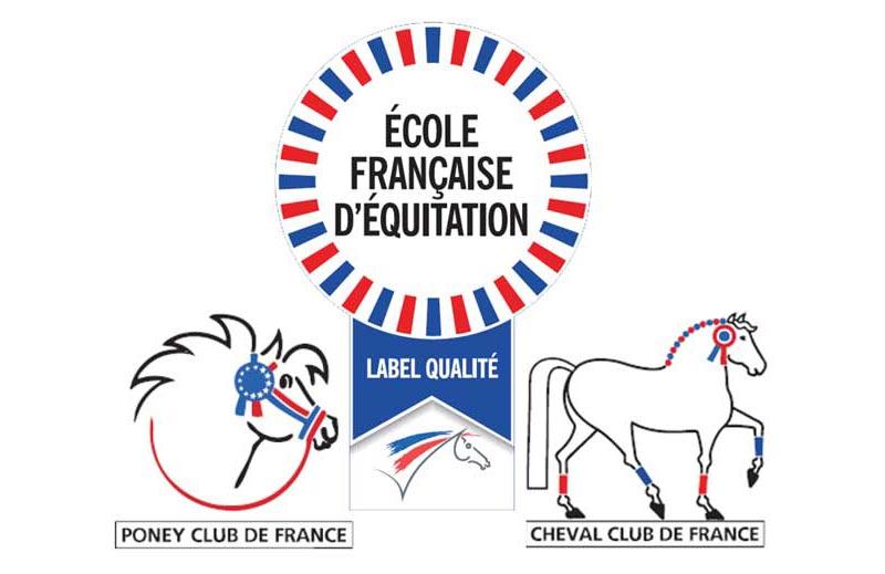 Le Centre Équestre de la Serre a le Label Qualité France CHEVAL et PONEY.