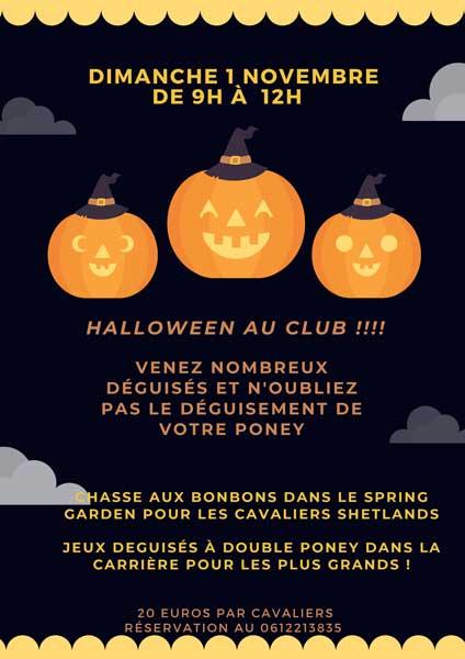 Halloween 2020 au centre équestre Écurie dela Serre - Saint Thibéry