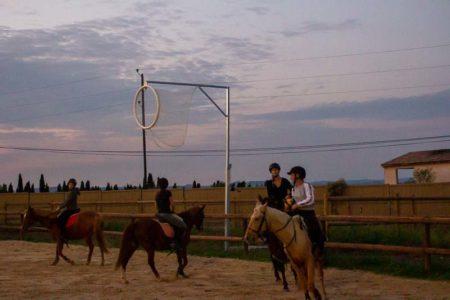 Horse Ball au Centre équestre Écurie de la Serre - Saint Thibéry